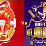 PSL Final@Quetta Gladiators vs Islamabad United L-ive Streaming 23, Feb 2016