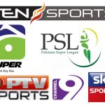 Tv channels broadcasting PSL 2019 Live [List]