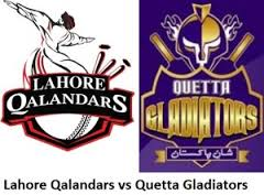 Lahore Qalandars vs Quetta Gladiators Prediction