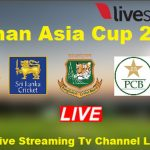 Asia Cup Cricket 2020 Live Streaming Online Free