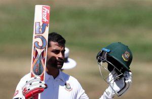 Tamim Iqbal warms up for test match with first class triple century.