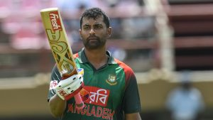 Bangladesh Cricket Board has appointed Tamim Iqbal as their new ODI captain the position which got vacant after Mashrafe Mortaza stepped down from his position as Bangladeshi limited overs captain earlier this week. Tamim Iqbal is one of the leading batsman of Bangladesh and has represented Bangladesh in 207 ODI's, 60 Test matches and 77 T20 international matches during his 13 year international career for Bangladesh. He is currently most successful Bangladeshi batsman in International cricket in terms of runs by a batsman. Tamim Iqbal is just days away from his 31st birthday is in spectacular batting as he amassed 310 runs in 3 matches inn recently concluded series against Zimbabwe including his career best ODI score 158 not out. Tamim Iqbal previously led Bangladesh in 3 one day internationals against Sri Lanka in 2019 and lost all three matches and his batting form dipped to as he scored just 21 runs in 3 outings as Bangladeshi captain. Tamim Iqbal's first assignment as Bangladesh limited overs captain will be against Pakistan when they face Pakistan for one ODI match on April 01st, 2020.
